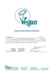 ecolife aloe vera gel = vegan